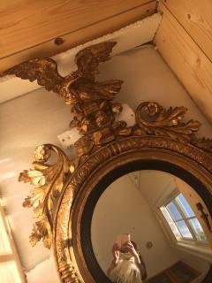 Giltwood Regency Girandole Mirror - 1891452