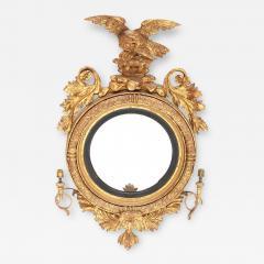 Giltwood Regency Girandole Mirror - 1894244