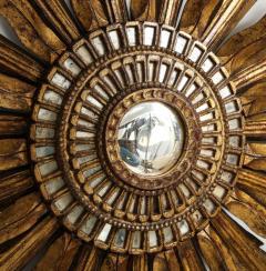 Giltwood Sunburst Mirror in the Manner of Live Vautrin - 2067612