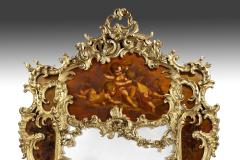 Giltwood and Vernis Martin Mirror - 778769