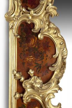 Giltwood and Vernis Martin Mirror - 778771
