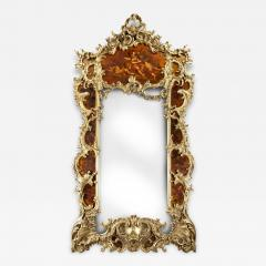 Giltwood and Vernis Martin Mirror - 791219