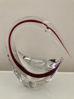 Gino Cenedese Pair Cenedese Glass large Murano birds - 1370185