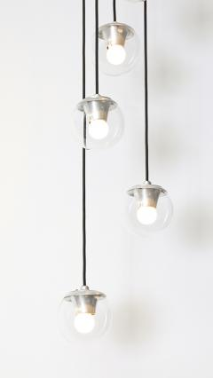 Gino Sarfatti 5 Light Hanging Fixture 2095 by Gino Sarfatti for Arteluce - 179248
