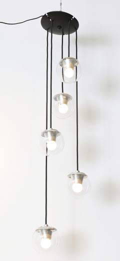 Gino Sarfatti 5 Light Hanging Fixture 2095 by Gino Sarfatti for Arteluce - 179249