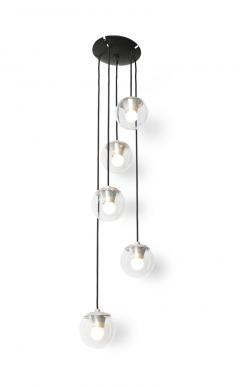 Gino Sarfatti 5 Light Hanging Fixture 2095 by Gino Sarfatti for Arteluce - 179250