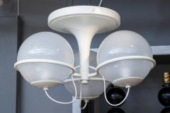 Gino Sarfatti Gino Sarfatti Metal and Glass Chandelier 2042 3 for Arteluce - 976474