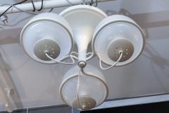 Gino Sarfatti Gino Sarfatti Metal and Glass Chandelier 2042 3 for Arteluce - 976476