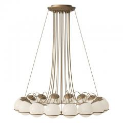 Gino Sarfatti Gino Sarfatti Model 2109 16 14 Chandelier in Brass - 1167473