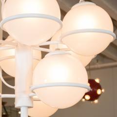 Gino Sarfatti Nine ball chandelier Model No 2042 9 by Gino Sarfatti for Arteluce - 1510795