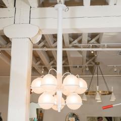 Gino Sarfatti Nine ball chandelier Model No 2042 9 by Gino Sarfatti for Arteluce - 1510796