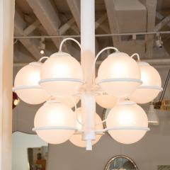 Gino Sarfatti Nine ball chandelier Model No 2042 9 by Gino Sarfatti for Arteluce - 1510797