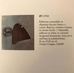 Gino Sarfatti Pair of 1950s Sconces Attributed to Gino Sarfatti for Arteluce - 1246226