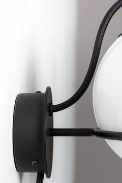 Gino Sarfatti Pair of Gino Sarfatti Model 237 1 Wall Lamps in Black - 1193523