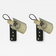 Gino Sarfatti Pair of lamps sa parete by Gino Sarfatti for Arteluce Mod 222 of 1950  - 1037349