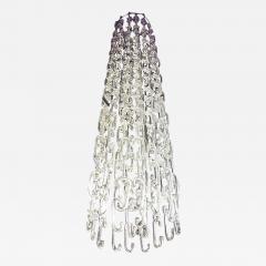 Gino Vistosi 8 ft Chain Link Murano Glass Chandelier by Gino Vistosi - 421888