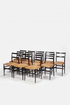 Gio Ponti 12 Gio Ponti Leggera Chairs 50 s - 1480551