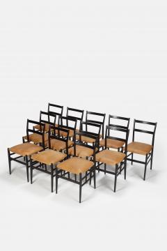 Gio Ponti 12 Gio Ponti Leggera Chairs 50 s - 1480634
