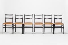 Gio Ponti 12 Gio Ponti Leggera Chairs 50 s - 1480635