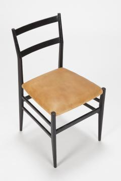 Gio Ponti 12 Gio Ponti Leggera Chairs 50 s - 1480640