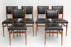 Gio Ponti A Fine Set of 12 Italian Modern Dining Chairs Gio Ponti - 37706