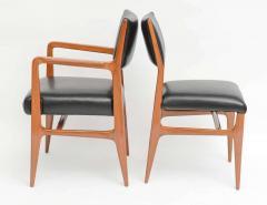Gio Ponti A Fine Set of 12 Italian Modern Dining Chairs Gio Ponti - 37710