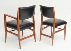 Gio Ponti A Fine Set of 12 Italian Modern Dining Chairs Gio Ponti - 37711