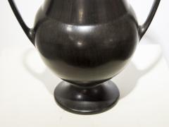 Gio Ponti Bucchero vase in ceramic by Gio Ponti circa 1950 - 952998