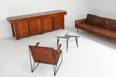 Gio Ponti Coffee Table by Gio Ponti for Singer Sons 1950s - 1237848