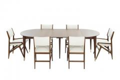 Gio Ponti Dining Room Set by Gio Ponti for M Singer Sons c  - 1712845