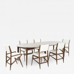 Gio Ponti Dining Room Set by Gio Ponti for M Singer Sons c  - 1718286