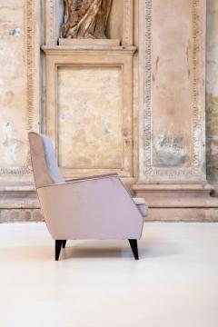 Gio Ponti Elegant Pair of Italian Armchairs - 1572928