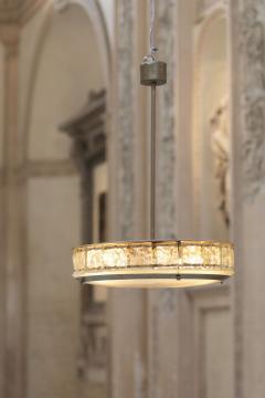 Gio Ponti Elegant italian midcentury chandelier by Fontana Arte - 1273832
