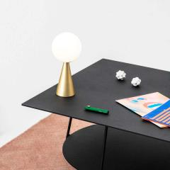 Gio Ponti Gio Ponti Bilia Mini Table Lamp in Black for Fontana Arte - 1259679