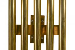 Gio Ponti Gio Ponti Brass Multi Cylinder Sconces for Candle Italy 1970s - 711630