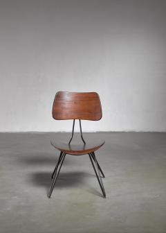 Gio Ponti Gio Ponti DU10 chair for Rima Italy 1950s - 1097252