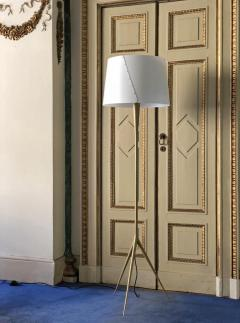 Gio Ponti Gio Ponti De Lux A4 Floor Lamp in Gold - 1034967