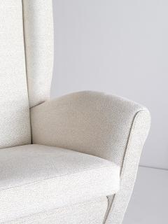 Gio Ponti Gio Ponti High Back Armchair Late 1940s - 853835