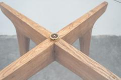 Gio Ponti Gio Ponti Maple And Glass Circular Table - 1691073
