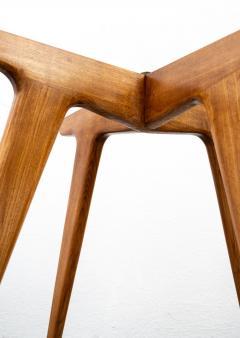 Gio Ponti Gio Ponti Maple And Glass Circular Table - 1691074
