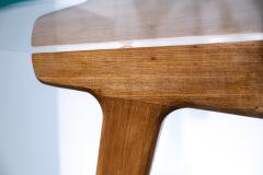 Gio Ponti Gio Ponti Maple And Glass Circular Table - 1691080