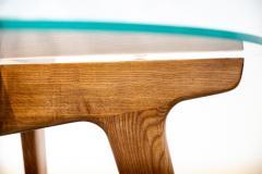 Gio Ponti Gio Ponti Maple And Glass Circular Table - 1691081