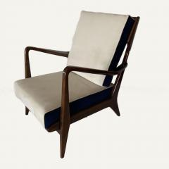 Gio Ponti Gio Ponti Pair of Club Chairs Model n 516 - 1889458