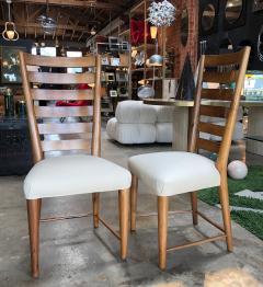 Gio Ponti Gio Ponti Rare Ladderback Chairs Italy 1940s - 1060395
