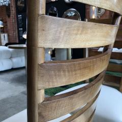 Gio Ponti Gio Ponti Rare Ladderback Chairs Italy 1940s - 1060401