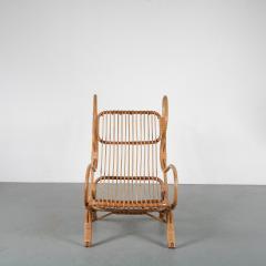 Gio Ponti Gio Ponti Rattan Easy Chair for Bonacina Italy 1950 - 1361574