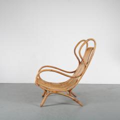 Gio Ponti Gio Ponti Rattan Easy Chair for Bonacina Italy 1950 - 1361576