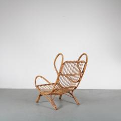 Gio Ponti Gio Ponti Rattan Easy Chair for Bonacina Italy 1950 - 1361578