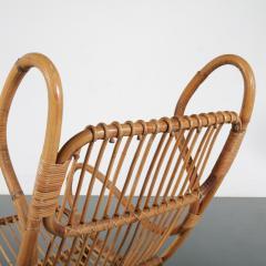 Gio Ponti Gio Ponti Rattan Easy Chair for Bonacina Italy 1950 - 1361579