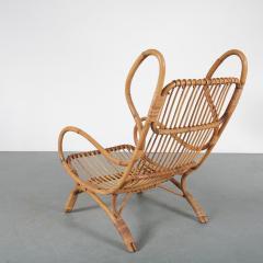 Gio Ponti Gio Ponti Rattan Easy Chair for Bonacina Italy 1950 - 1361581